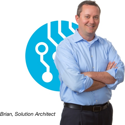 Brian, Solution Architect
